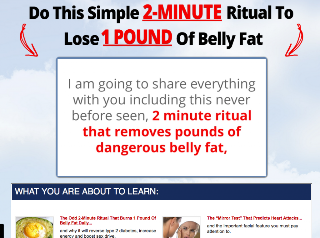 Lean Belly Breakthrough Website